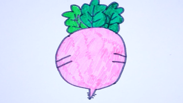萝卜简笔画视频教程 萝卜简笔画方法步骤